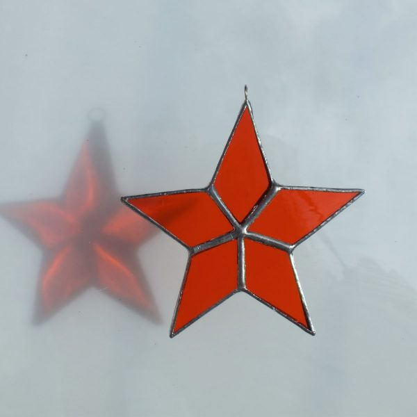 5er Stern orange