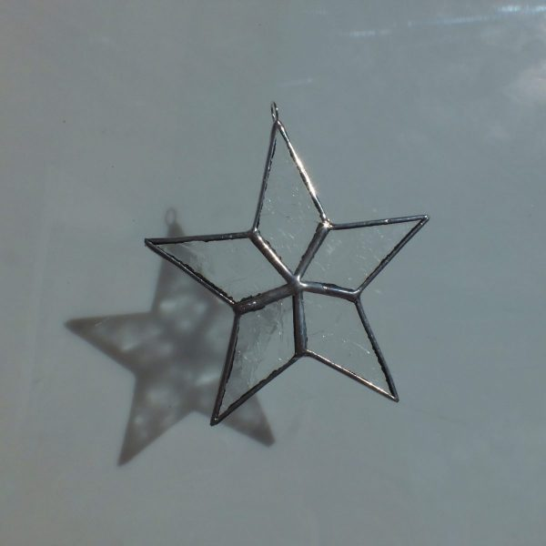 5er Stern Eisblume klar