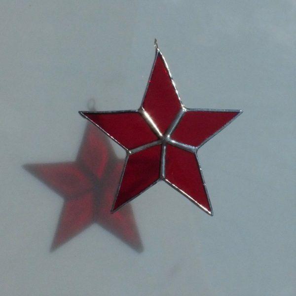 5er Stern rot