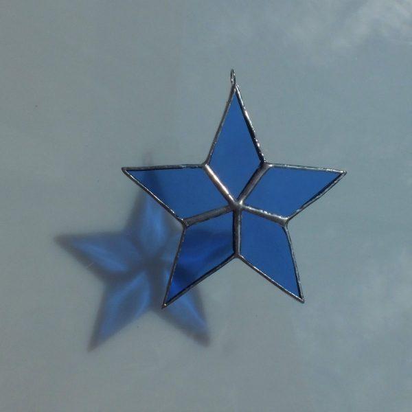 5er Stern blau