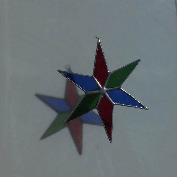 Blau - rot - grün
