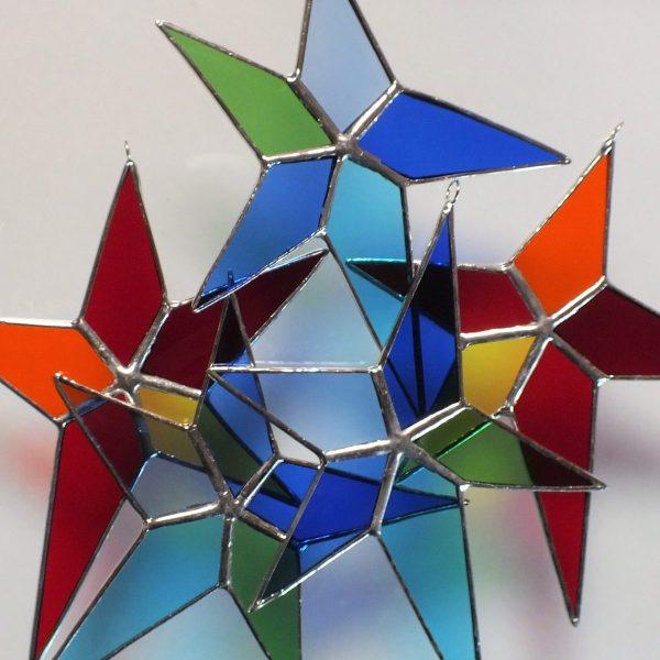 Asymmetrische Sterne